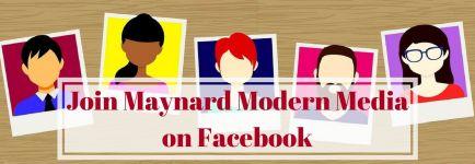 Join Maynard Modern Media on Facebook
