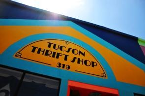 Tucson Thrift Shop sun