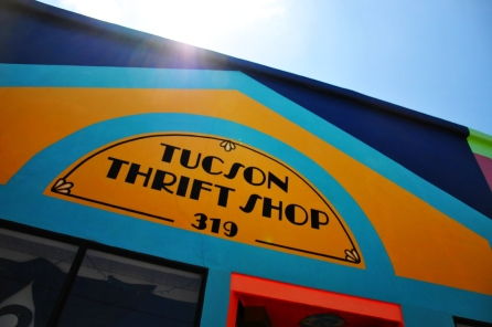 Tucson Thrift Shop sun